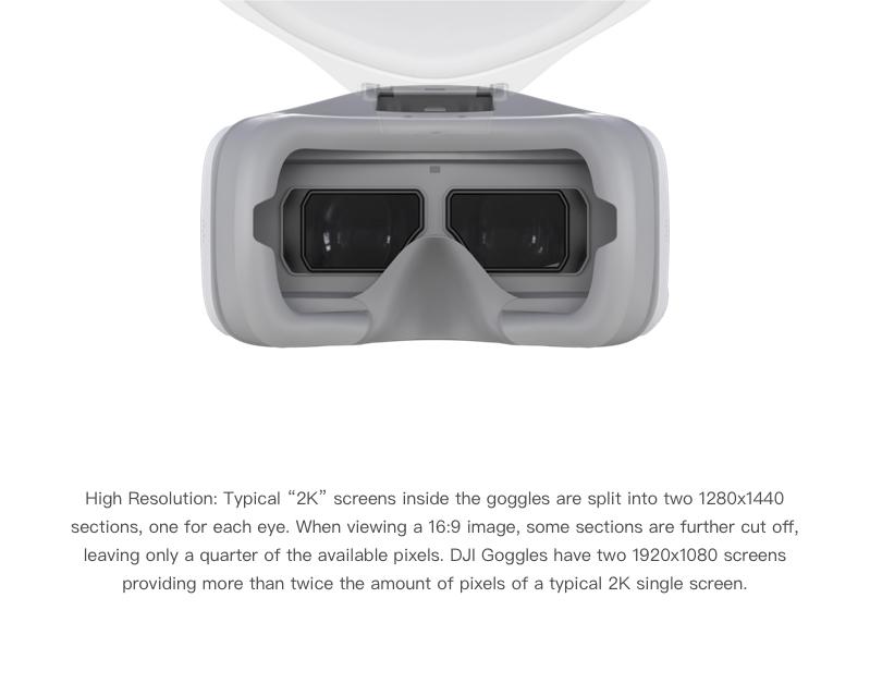 DJI Goggles FPV bril