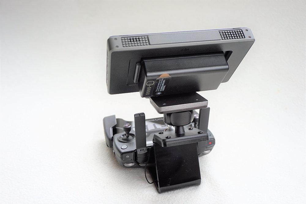 LifThor CS-II houder voor DJI CrystalSky monitor (incl. montageplaat & video kabel)